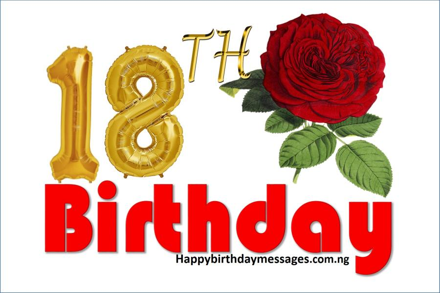 Happy 18th Birthday Wishes Greetings and Quotes Happy Birthday – Happy 18th Birthday Greetings