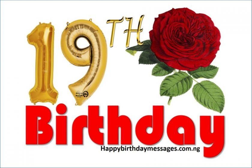 top 20 19th birthday wishes greetings amp quotes happy