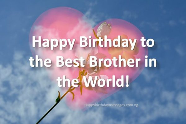 Happy Birthday Wishes for My Blood Brother