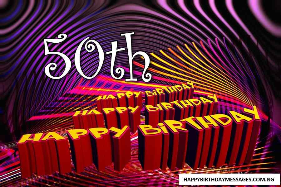 50th Birthday Wishes for Myself