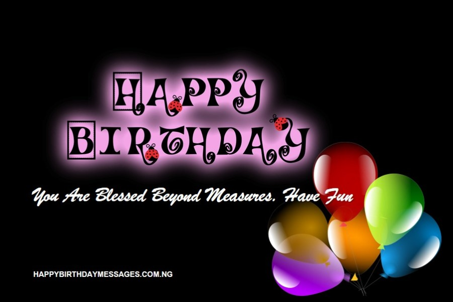Birthday Messages for Special Friends