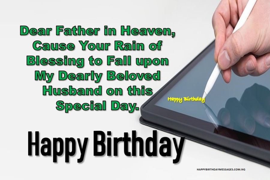 Prayer for My Husband on His Birthday