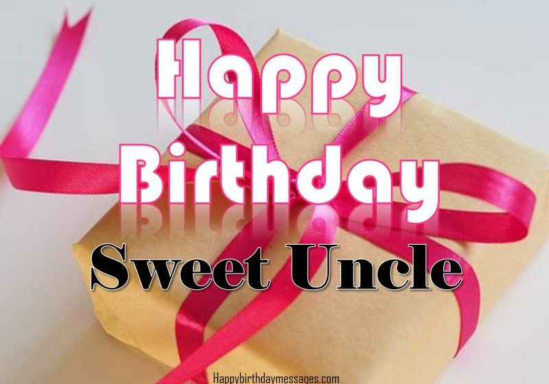 Happy Birthday Wishes My Uncle